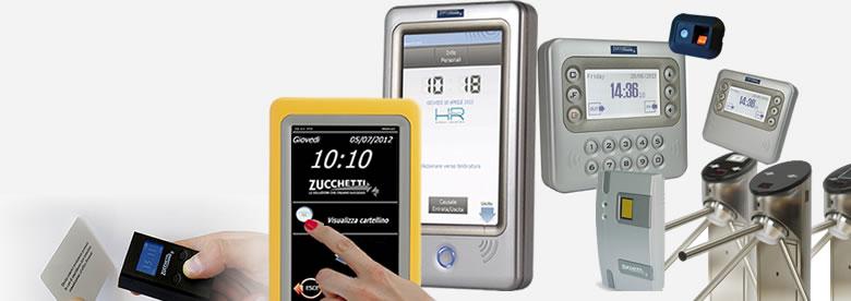 rilevazione presenze Zucchetti, software e terminali